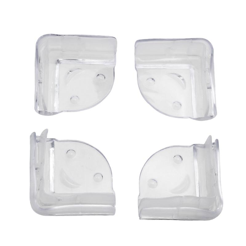 4pcs Children Safety Protector L-shaped Table Corner Edge Protection Cover