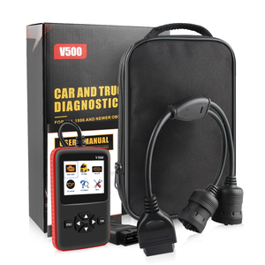 Image 5 - Auto Truck OBD2 Scanner Heavy Duty Truck Diagnose Code Reader Auto Scanner Truck Abs Dpf Olie Licht Reset Auto Diagnose tool