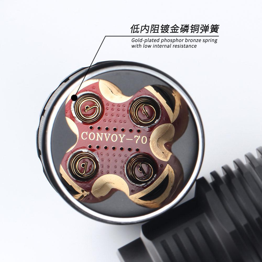 de temperatura interface carregamento tipo c com 4 pecas 18650 bateria 02