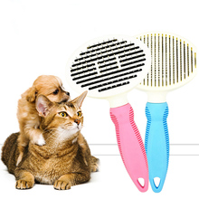 Dog Brush & Cat Brush - Quick Self Cleaning Brush for Long and Short Hair Pet Shedding Grooming Tools Pet Dog Hair Remover pet hair deshedding dog cat brush comb sticky hair gloves hair fur cleaning for sofa bed clothe pets dogs cats cleaning tools