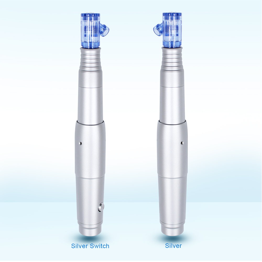 Biomaser Derma Pen Electric Skin Care Permanent Makeup Tattoo Machine Microneeding Pen Nano 36 Needles Cartridge MTS Mesotherapy