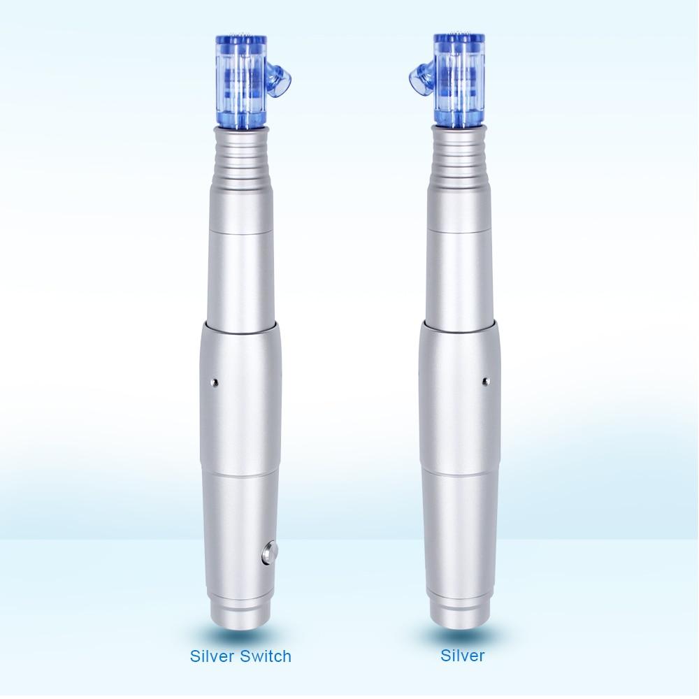Biomaser Derma Pen Electric Skin Care Permanent Makeup Tattoo Machine Microneeding Pen Nano 36 Needles Cartridge MTS Mesotherapy