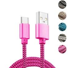 USB type C кабель для Samsung galaxy feel 2 A51 A71 A30S A21S A40 A50 A70 A20 S8, кабель для быстрой зарядки и передачи данных, 1 м 2 м