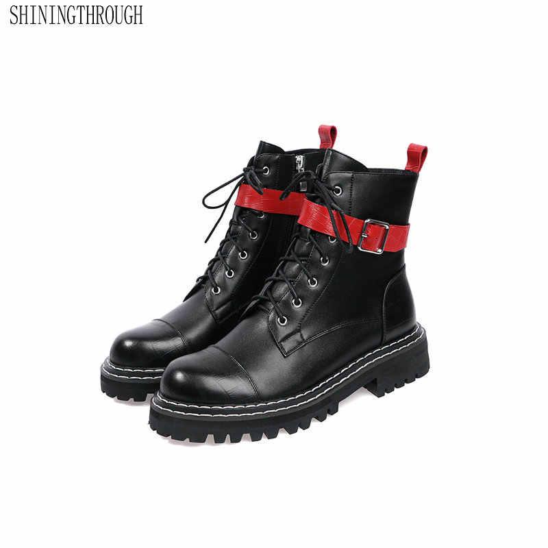 Брендовые женские ботильоны; Повседневная Теплая обувь наивысшего качества с круглым носком; сезон осень-зима; женские классические мотоботы; большие размеры 41, 42, 43
