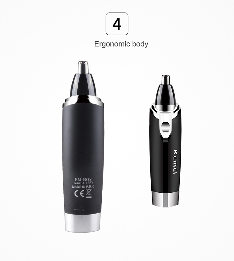Homens nariz orelha cabelo sem fio trimmer