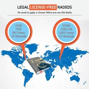 Image 2 - 20 sztuk mini walkie talkie Retevis RT22 ekstremalne ultra cienki 2 W UHF VOX Ham Radio Transceiver Hf Two Way Radio stacja
