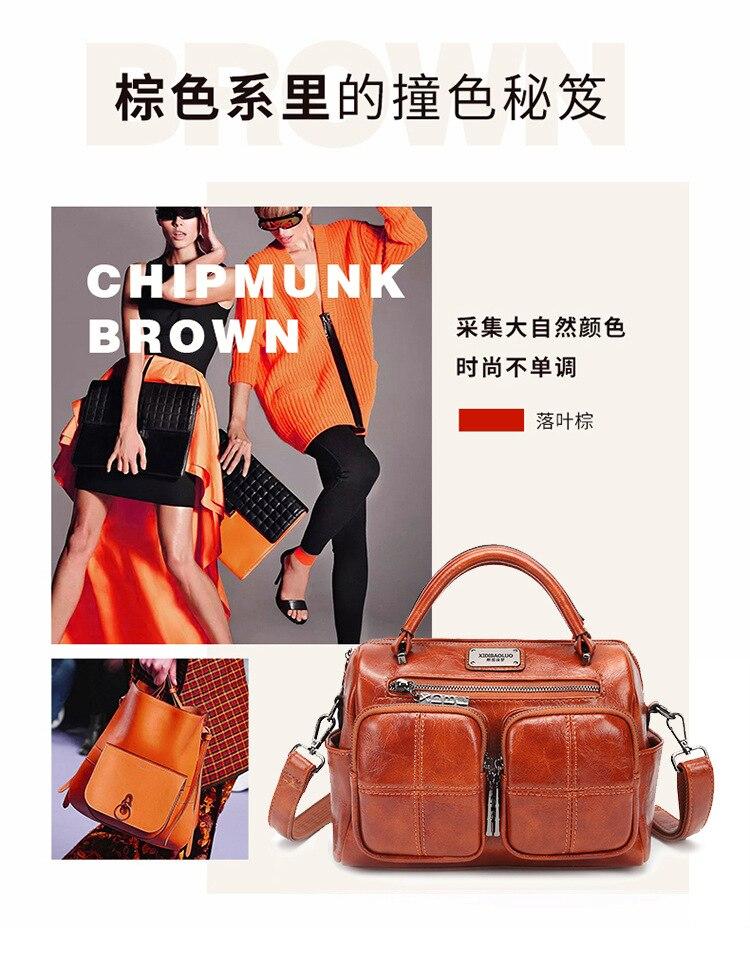 primavera verão nova moda vintage mão-realizada bolsa