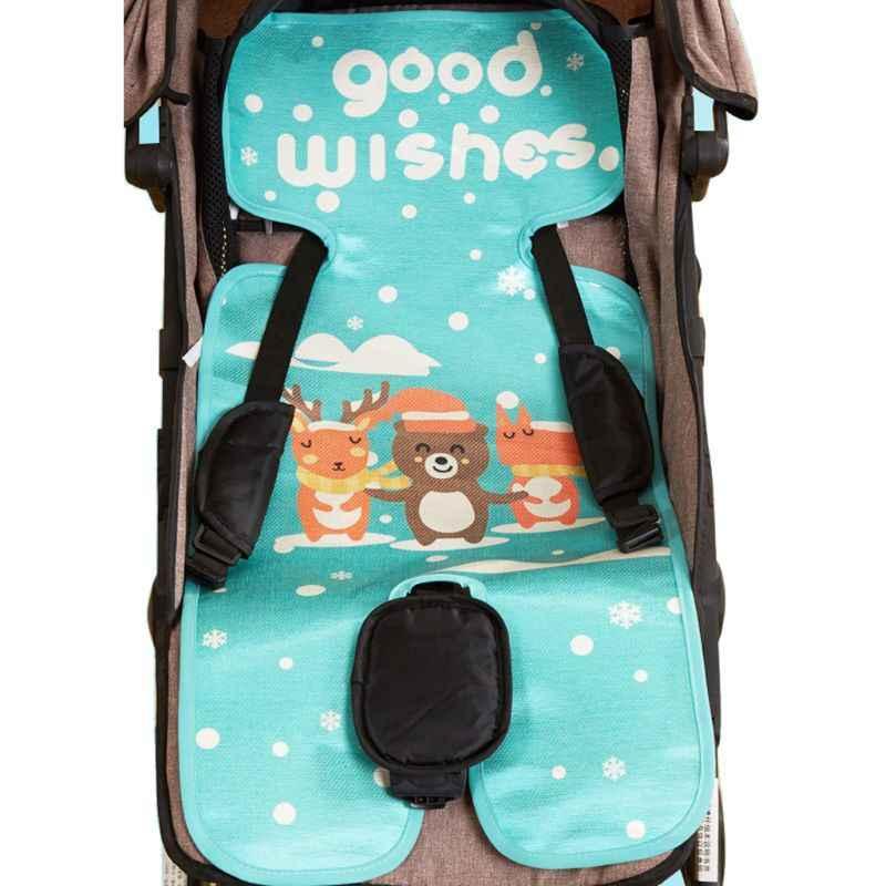 รถเข็นเด็กทารกที่นอนรถเข็นฤดูร้อน Sleeping Mat Breathable รถเข็นเด็กรถเข็นเก้าอี้สูงที่นั่งรถเข็นเด็ก Pram อุปกรณ์เสริม
