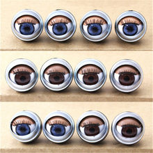 19/20mm Round spherical Acrylic Plastic blink BJD eyes For Wink Reborn Dolls Making DIY Supplies Toys Accessories 3D Winking eye