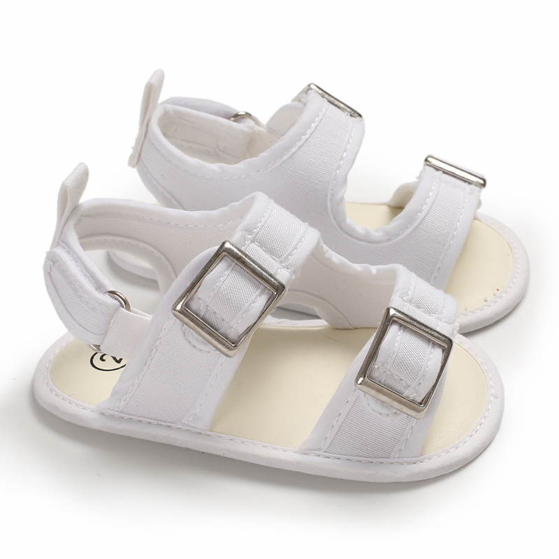 Infant Unisex Baby Girl Boy Summer Sandals Canvas Denim Shoes 0-2 Years Boy And Girl Soft Sole First Walking Newborn Shoes
