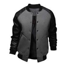 2019 Jacket Men Casual Baseball Suit Coats Fashion Slim Thin Jackets Brand New Male Coat Top Quality
