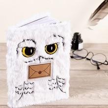 15*21cm Harried Sketchbook Kraft Paper Potters Notebook Sketch Cartoon Hedwig Owl Painting Diary Journal Student Note Book Memo