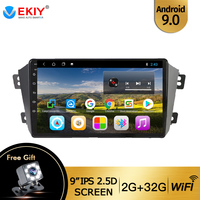 EKIY 9'' IPS Car Radio Android 9.0 For Geely Emgrand X7 1 GX7 EX7 2011 2019 Stereo Multimedia Video Player BT Wifi DVD Head Unit