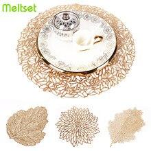 Kreative Tasse Coaster Hohl PVC Nicht-slip Tischset Bahn Wärmedämmung Tee Wasserdicht Esstisch Matte