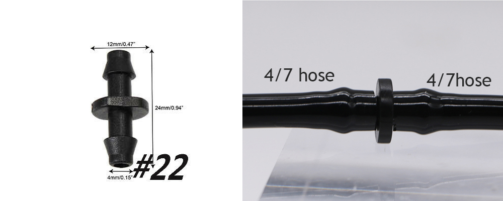 H67bed5f03a5e4115aa9a2952c371dce7Z Garden Drip irrigation Hose Connector Spray Sprinkler Automatic Irrigation Garden Irrigation System Autowatering