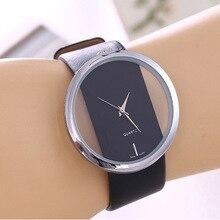 Верхняя кожа кварцевые часы Леди часы женщины роскошные античная стильный круглый платье часы Feminino Montre роковой без подарочной коробке