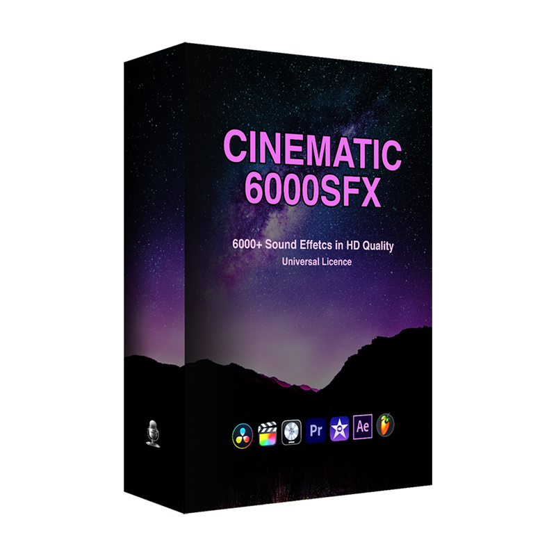 Professionalsongs 6000+ Cinematic Sfx Ultimate Bundle Pack Ultimate Multi Type Movie High Quality Lossless Sound Package