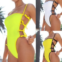 2020 One Piece Swimsuit New Sexy White Women High Cut Out Swimwear Brazilian Push Up Monokini Bathing Suits Beach Swimming Suit sexy one piece swimsuit swimming suit for women high cut swimwear push up shoulder off brazilian monokini biquini bathing suits