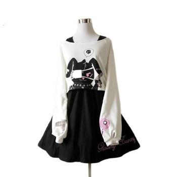 Rabbit Lolita Women's Clothing & Accessories Dresses Lolita Dresses 6f6cb72d544962fa333e2e: L|M|S