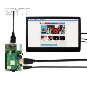 Image 2 - التوت بي 4B 3B + 11.6 بوصة VGA/HDM HD عرض IPS شاشة الزجاج المقسى بالسعة شاشة تعمل باللمس