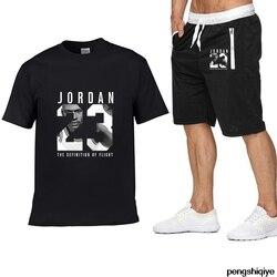 Новинка 2020, комплект с карманом на молнии из 2 предметов, мужские комплекты, Мужская одежда, спортивная одежда, комплект для фитнеса, летние м...