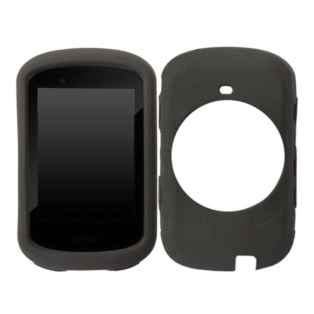 Garmin Edge 530 Silicone Gel Skin Case Black Colour /& FREE Screen Protector