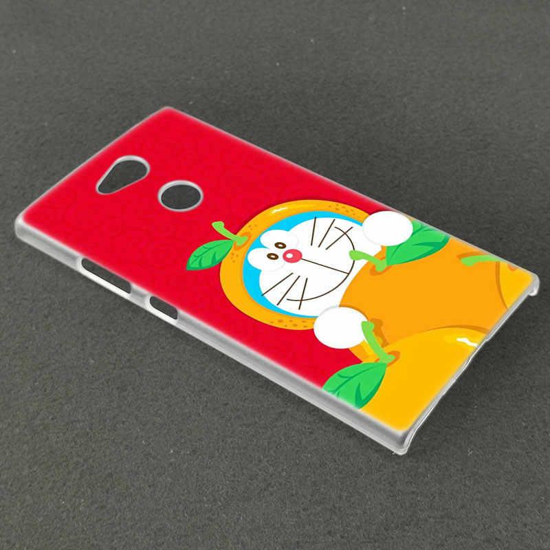Cute cartoon Doraemon twarde etui do Sony Xperia L1 L2 L3 X XA XA1 XA2 XA3 Ultra 10 Plus E5 XZ XZ1 XZ2 kompaktowy XZ3 XZ5 2 20 pokrywa