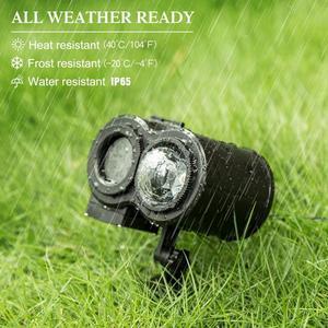 Image 4 - חג אור חג המולד לייזר מקרן מנורת LED אור עץ חג המולד דשא גן כוכב שמיים לייזר מקלחת 12 16 סרט הקרנה