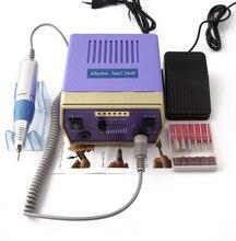цена на Professional Drill Nail Machine Electric Nail Grinder Bits Set E File Tools Manicure Pedicure Polisher Machine Nail Equipment