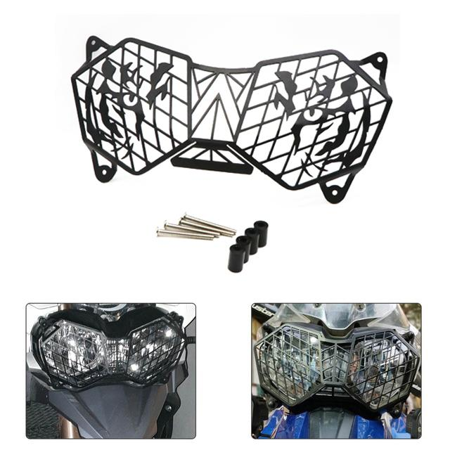 Motorcycle Headlight Grille Light Cover Protective Guard Motorbike Headlight Grille For Triumph TIGER 1200XC EXPLORER 12-17