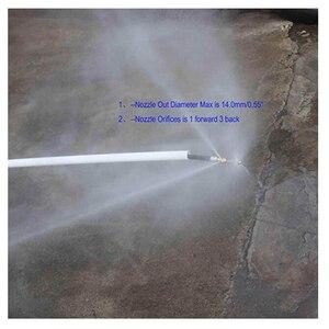 Image 3 - 10m 15m 20m Sewer Drainage Sewage Drainage Hose Flusher For Karcher K2 K3 K4 K5 K6 K7 High Pressure Washer