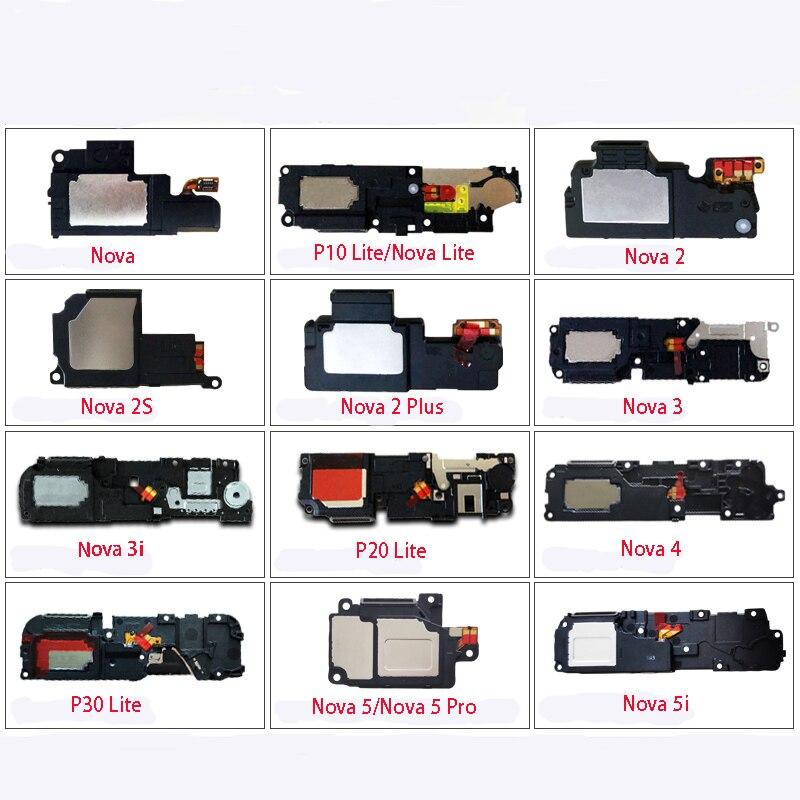 New Loudspeaker For Huawei Nova 3 4 2 2 Plus 2S 3i 5 5i 5 Pro P20 Lite P30 Lite Nova Lite Loud Speaker Buzzer Ringer Flex