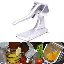 Aluminum alloy manual juicer fruit hand squeezer pressure lemon