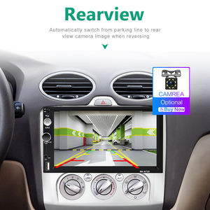 Автомобильный мультимедийный плеер Podofo, 2 DIN, Android, GPS, Авторадио для Volkswagen/Nissan/toyota/Golf/Kia/SKoda