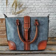 2019 Famous Brand Genuine Leather Women Handbag Large Capaci