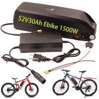 Batteria elettrica Hailong per bicicletta, batteria 36V 48V 52V 17AH 20AH 30AH 500W 750W 1000W 1500W BBS02 BBS03 BBSHD 18650