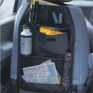 Image 1 - Universal à prova dwaterproof água assento de carro volta organizador saco armazenamento multi bolso pendurado bolsa sortido 58cm x 38cm acessórios automóveis preto