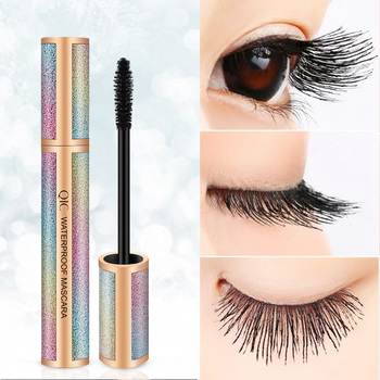 Qic Starry Sky 4d Long Mascara Thick Volume Become Spoiled Watertight Defense Sweat Halo No Fading Beauty Eyes image