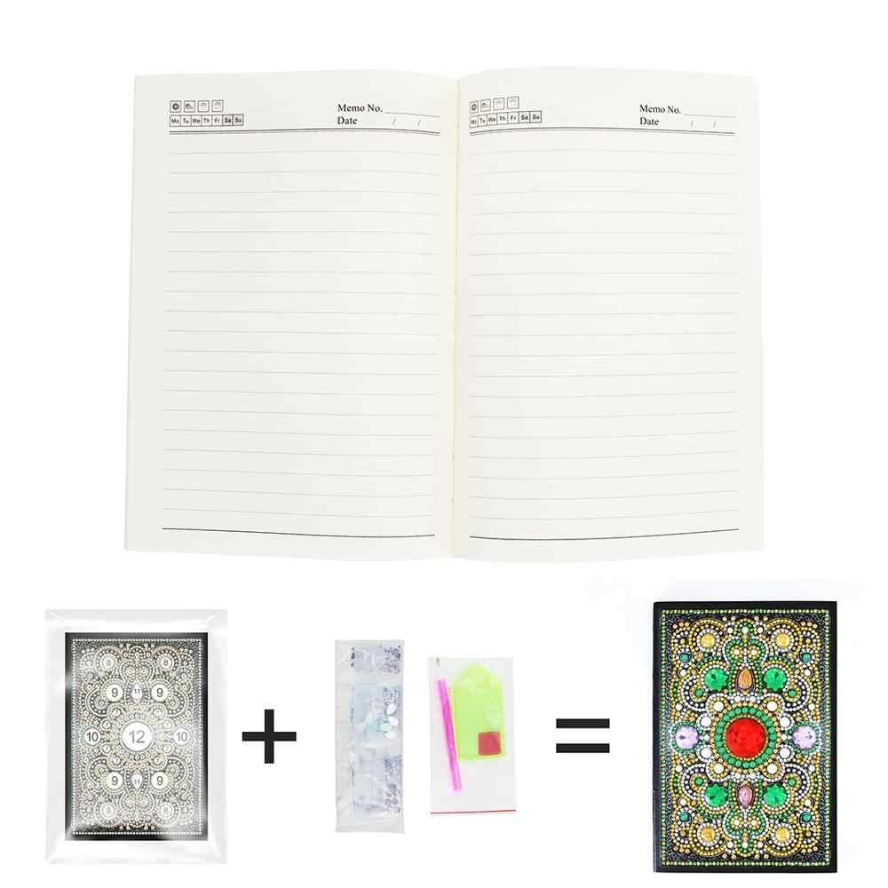 HOMFUN A5 блокноты 5D DIY алмазная живопись специальная форма Дневник Книга Алмазная вышивка крестиком Стразы Декор подарок