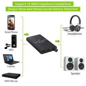 Image 4 - PROZOR 16 300Ω HiFi 헤드폰 증폭기 이어폰 증폭기 3.5mm AUX 입력 출력 MP3 휴대 전화 용 휴대용 헤드폰 앰프