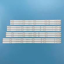Striscia di Retroilluminazione A LED lampada Per 50LA6200 50LN575 LC500DUE 50LN542 50LA613 50LN5700 50LA621 50LN613V 50L2300U