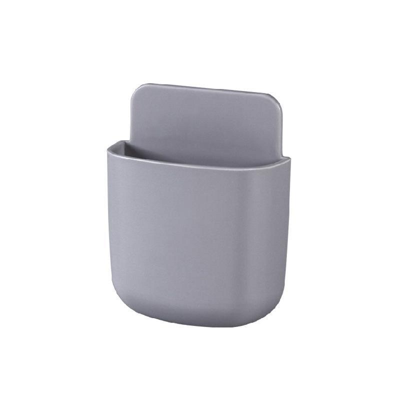 Коробка для хранения пульт дистанционного управления кондиционер чехол для хранения мобильный телефонный разъем Держатель подставка контейнер 1 шт. настенный смонтированный Органайзер - Цвет: 05 Large