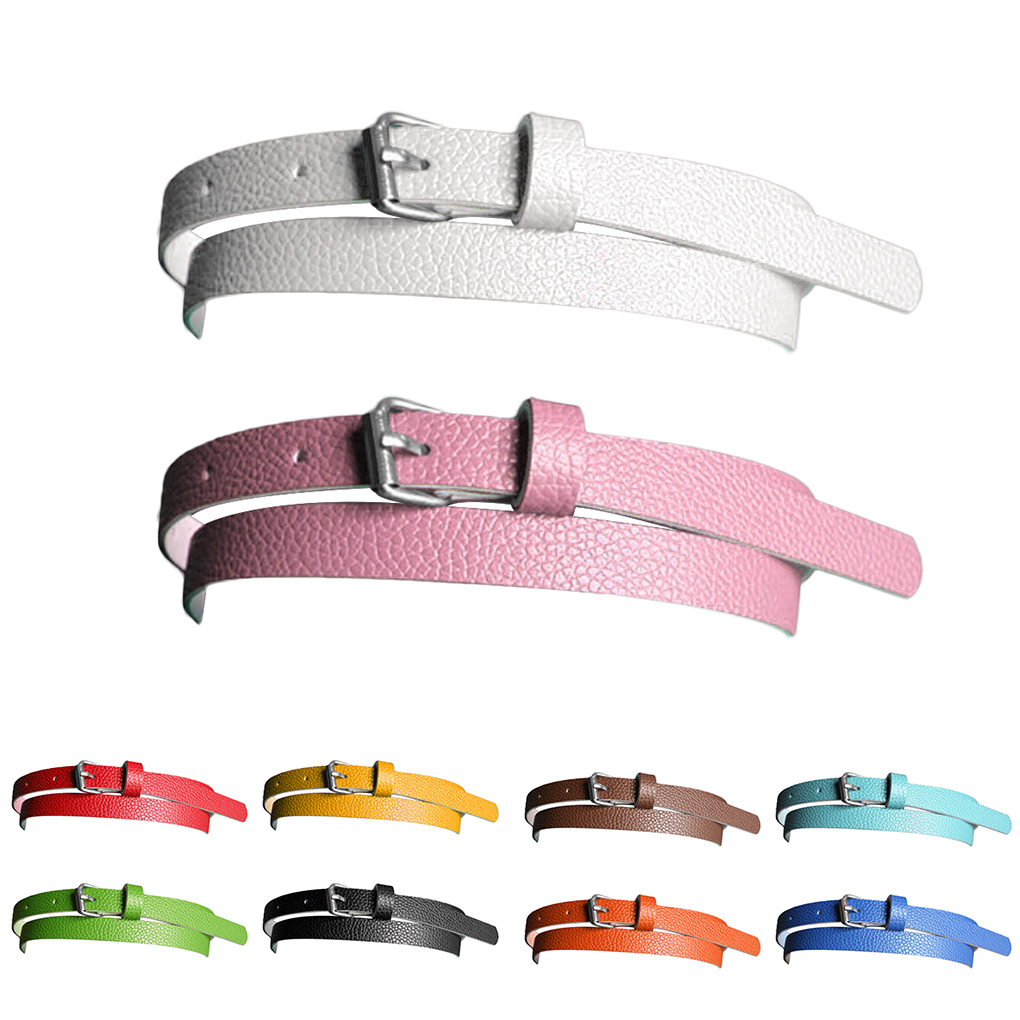 New Girl Lady Belt Narrow Thin Leather Waistband Belt Women Accessories 10 Candy Colors Metal Buckle