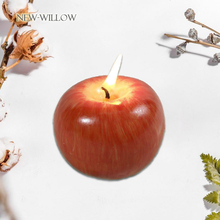 Scented Candle Smokeless Holiday-Decoration Christmas-Gift Artificial-Apple Home Fruit