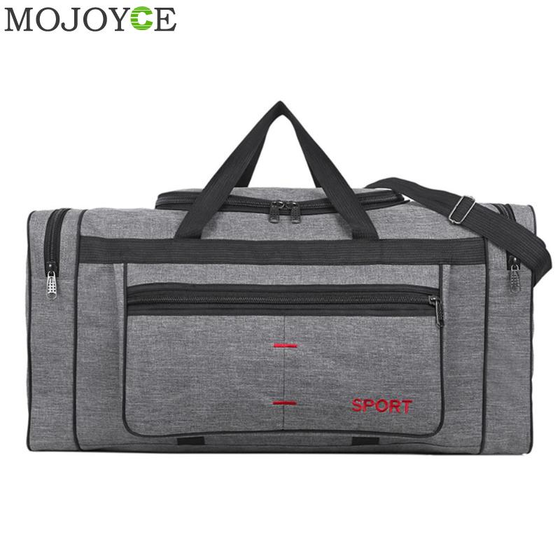 Multi-function Handbag Large Capacity Outdoor Sport Gym Shoulder Bag Canvas Women Men Travel Yoga Fitness Totes