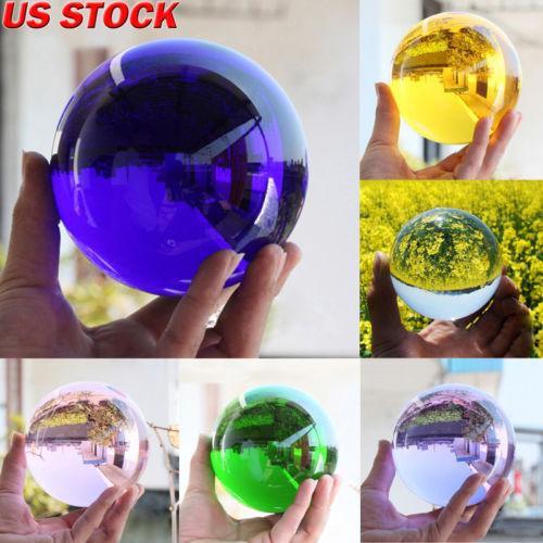 Lot Rare Natural Quartz Magic Gemstone Sphere Crystal Reiki Healing Ball Stone Free Shipping