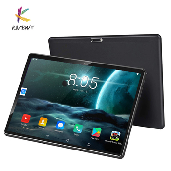 NEW Tablet Pc 10.1 inch Android 8.0 2GB+32GB Tablets Octa Core Google Play 4G LTE Phone Call Bluetooth Tempered Glass ZOOM new tablet pc 10 1 inch android 9 0 tablets octa core google play 3g 4g lte phone call gps wifi bluetooth tempered glass 10 inch