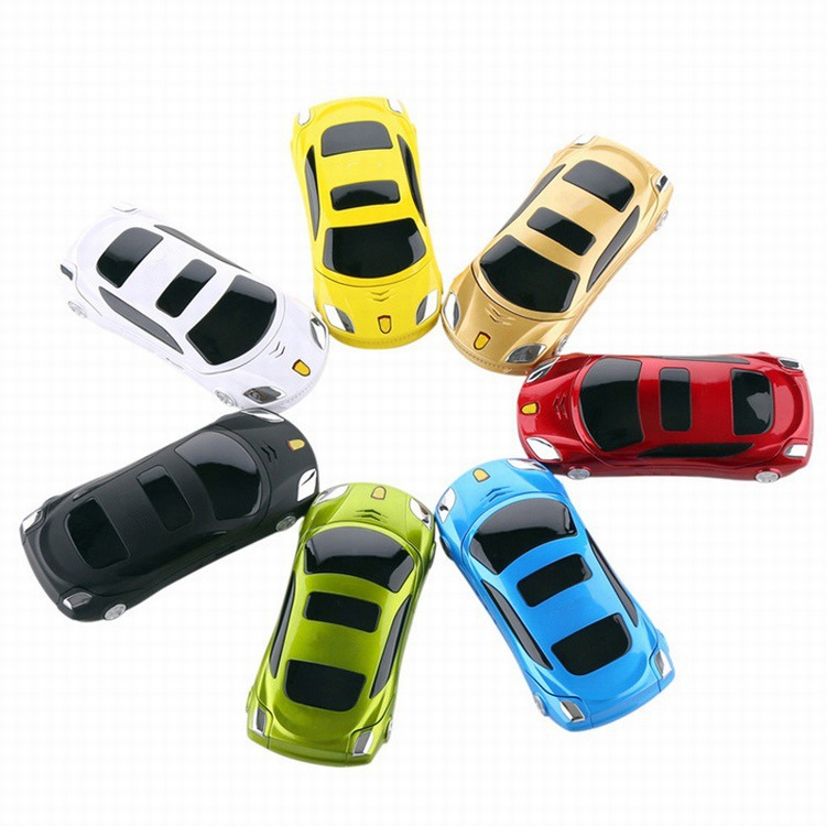 CHAIAI Car Phone F15 Cellphone For Children Flip Mini Mobile With Camera 2 Sim Led Light Unlocked