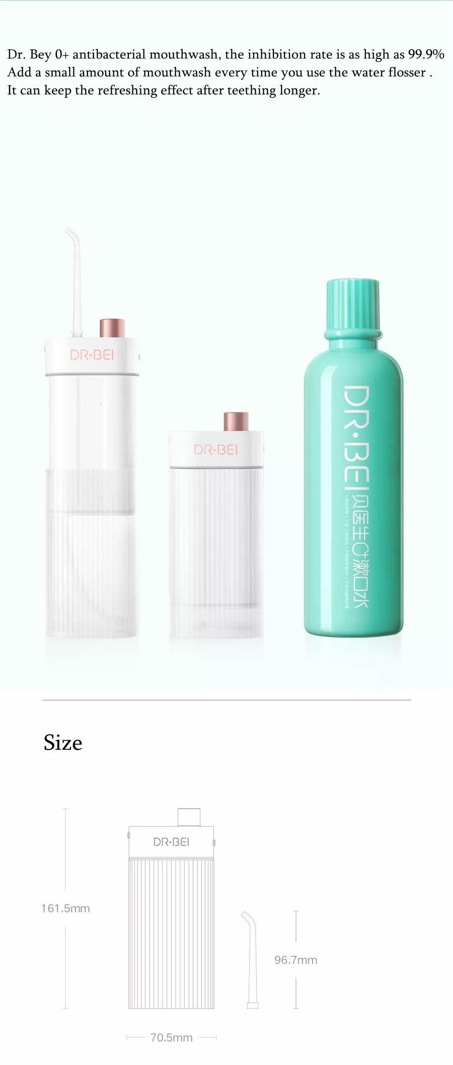 água usb recarregável dentes boca mais limpo