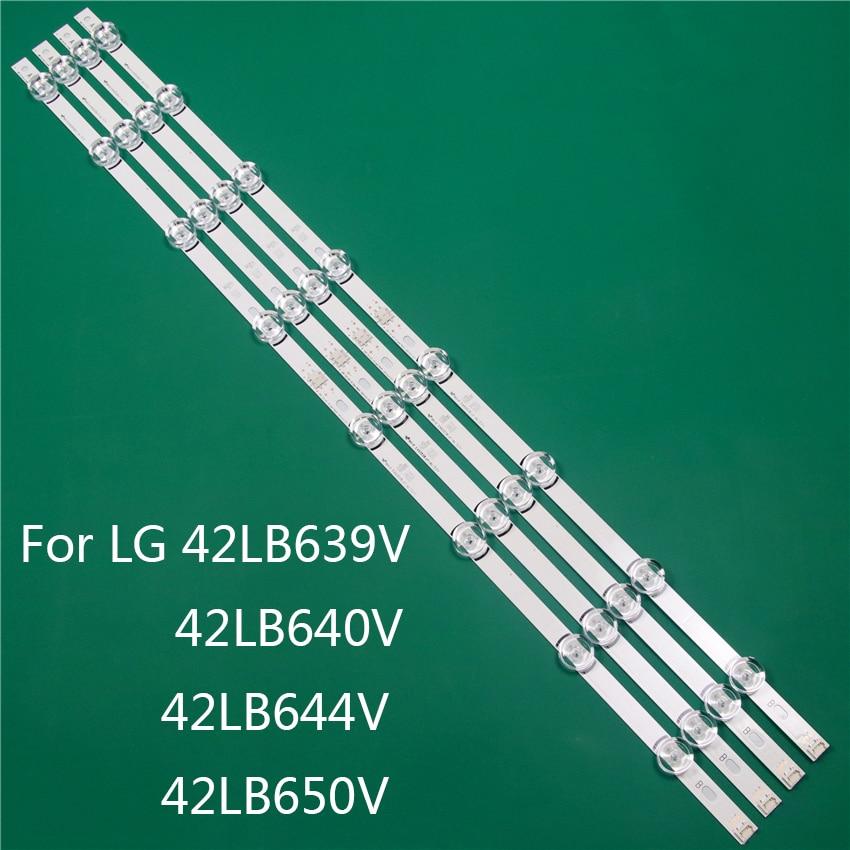 LED TV Illumination Part Replacement For LG 42LB639V 42LB640V 42LB644V 42LB650V LED Bar Backlight Strip Line Ruler DRT3.0 42 A B